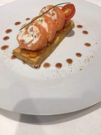 Fraîcheur de saumon