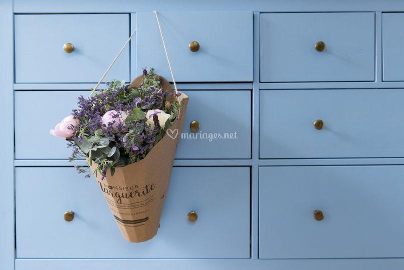 Monsieur Fleur Bleue