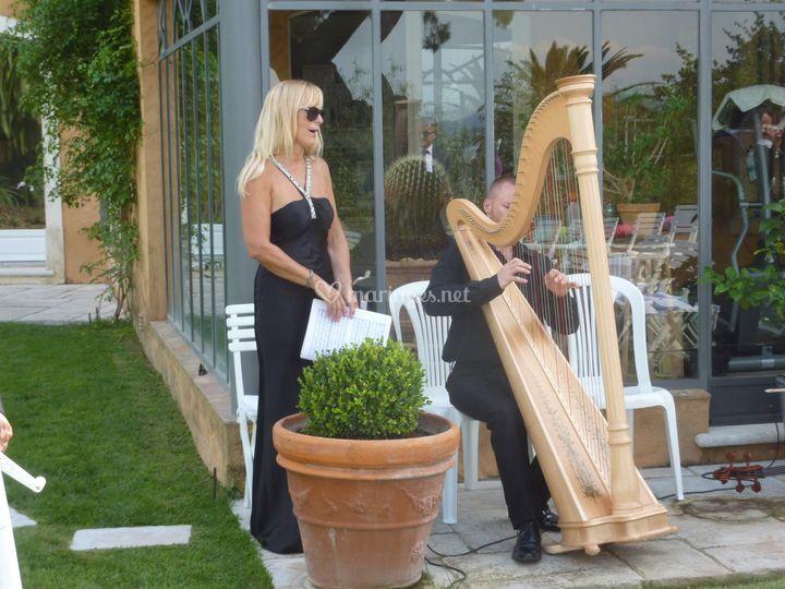 Duo soprano/harpe