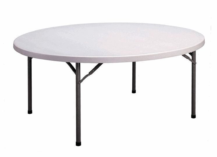 Tables Rondes Pliantes