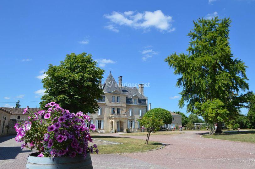 Château Julie en été