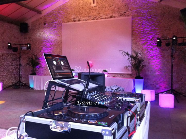 Exemple d'installation dj