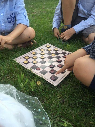 Jeux de société extérieur