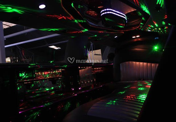 Ambiance musicale limousine