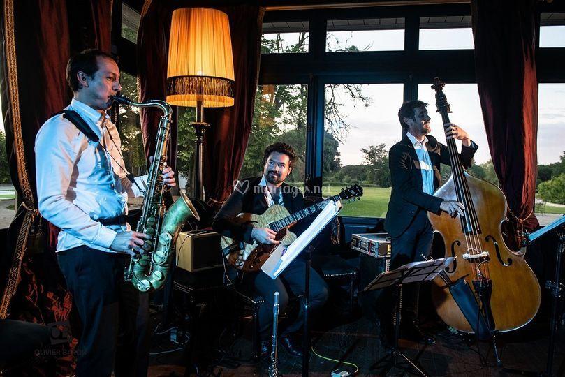 Trio Jazz avec Saxophone