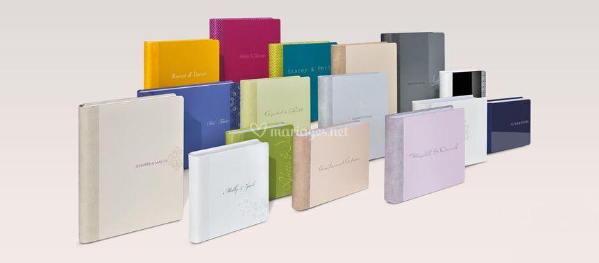 Album couleur pastel