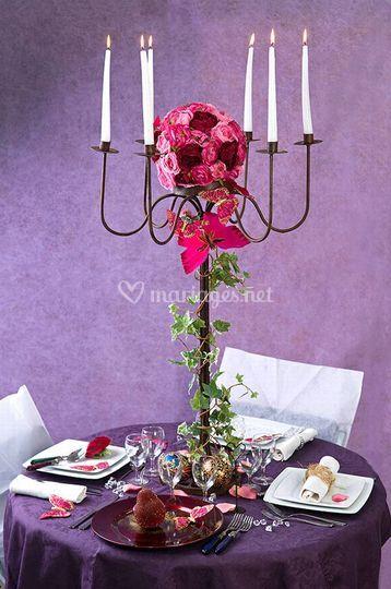 Grand chandelier 90 cm by artnuptial-Photo tous droits réservés *