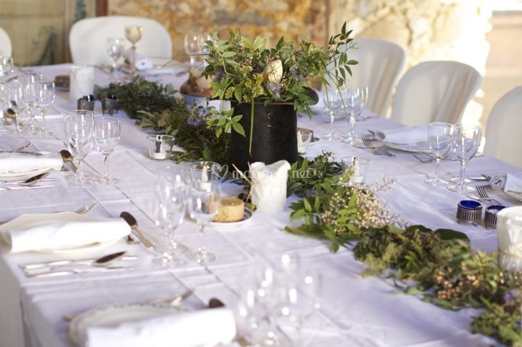 Table decorée