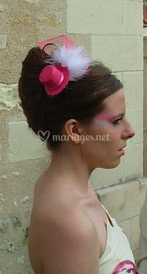 Une coiffe très originale