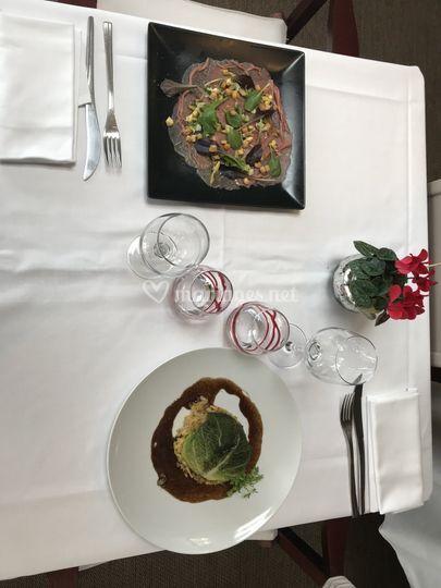 Exemple de plats du jour