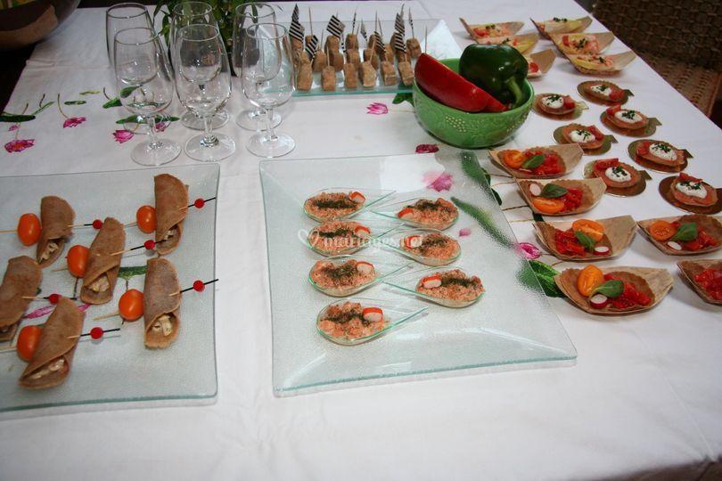 Variation  vin d'honneur