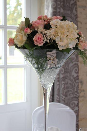 Vases martini