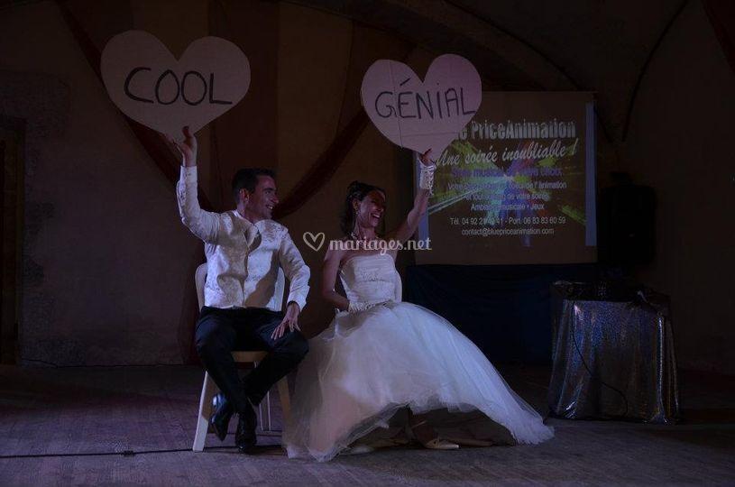 Jeux de mariage hautes alpes