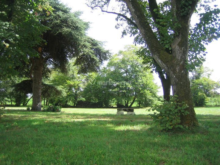 Le parc de 3ha sécurisé