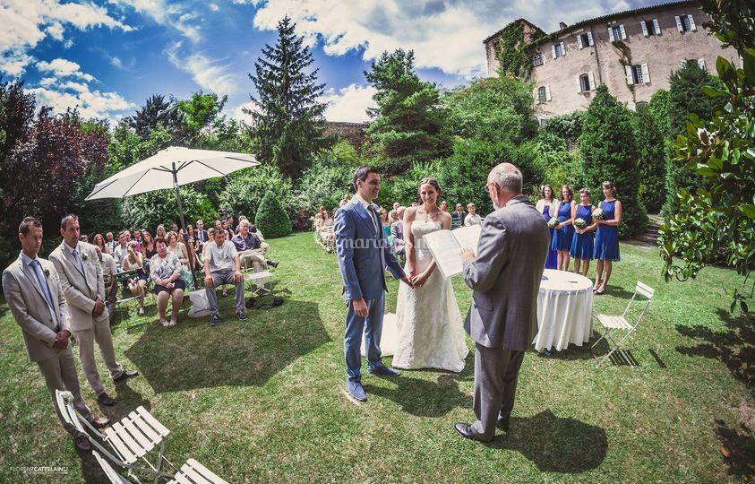 C r monie en plein air de florent cattelain photos - Ceremonie mariage plein air ...