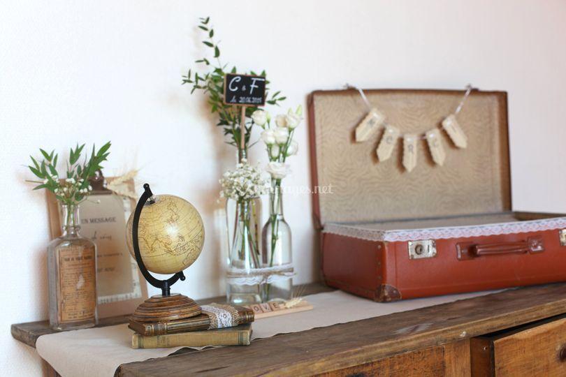 Bureau postier 1900 urne
