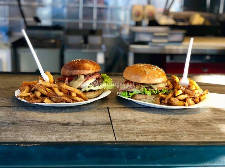 Les Burgers & Frites Maison