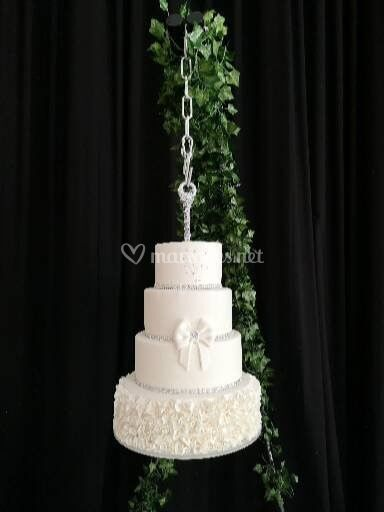 Wedding Cake suspendu