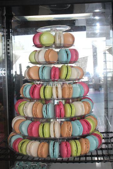 Macarons frais non surgelé