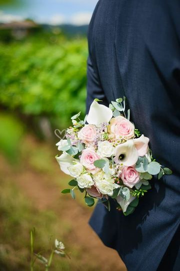 Bouquet de mariée volupte