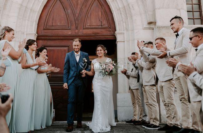 Sortie des mariée