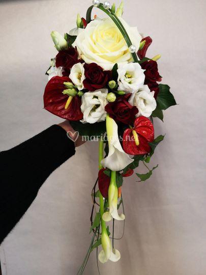 Bouquet en goutte
