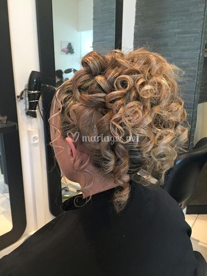 Coiffure cocktail