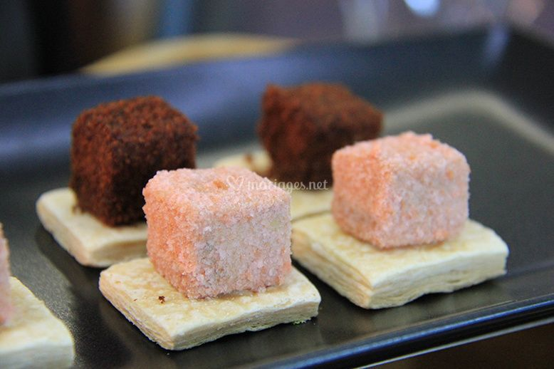 Cube de foie gras régionaux