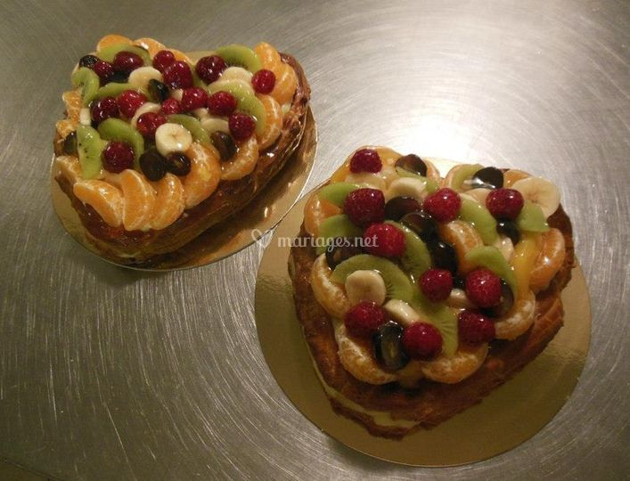 Coeur de fruits