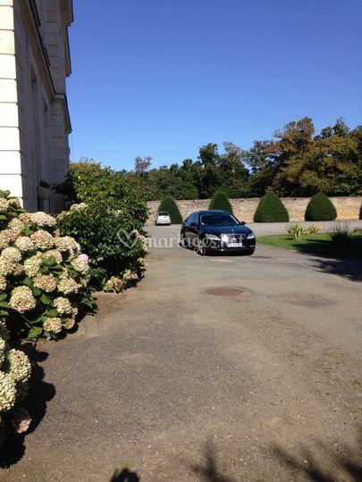 Mercedes s limousine