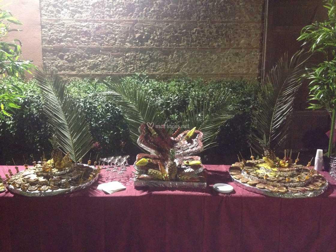 buffet extérieur de mas palegry | photo 55