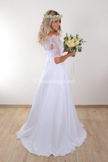 Juliette robe de mariée bohème