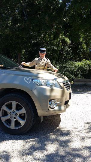 Costume Gendarme de St-Tropez