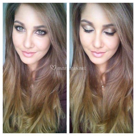 Maquillage par Talyndia