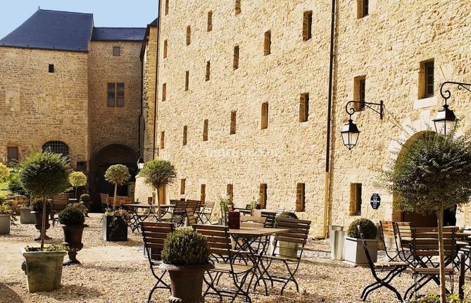 Terrase de l'Hôtel Le Château Fort