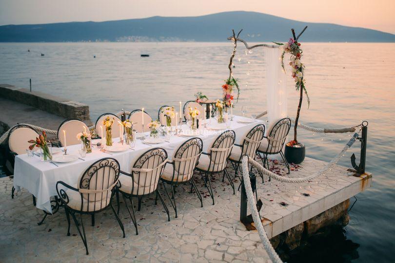 Table de mariée