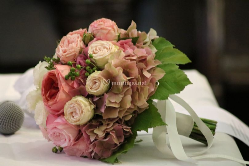 Fleurs de la mariée