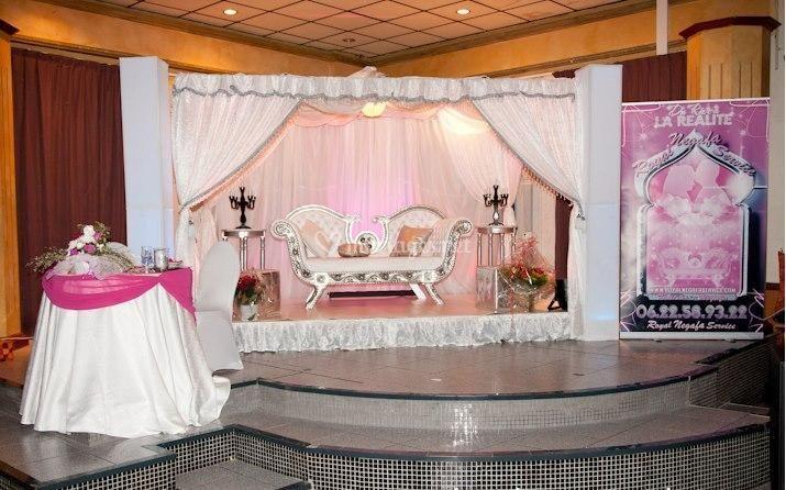 decoration table pour mariage marocain id es et d 39 inspiration sur le mariage. Black Bedroom Furniture Sets. Home Design Ideas