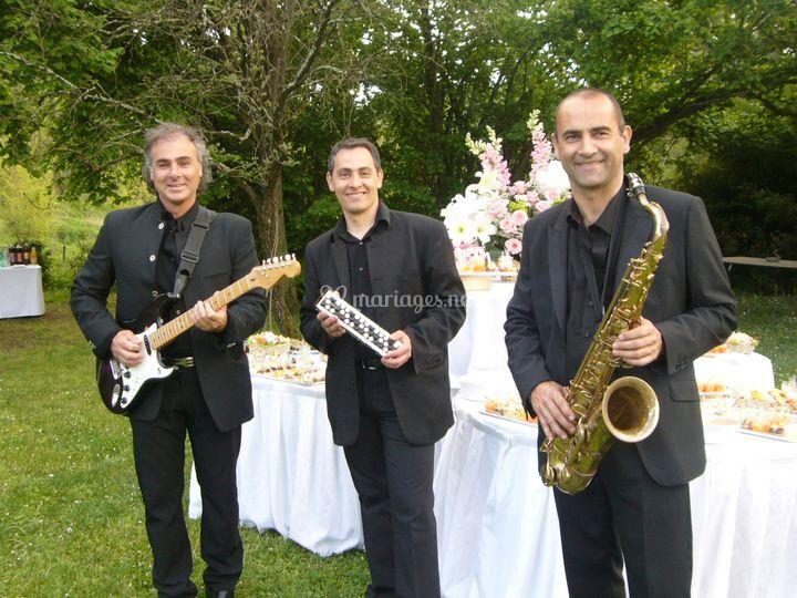 Musiciens cocktail