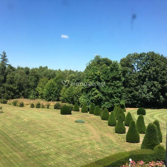 Une de vue sur le parc