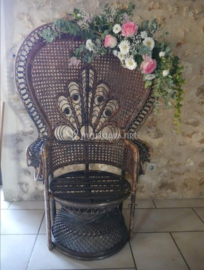 Décoration de fauteuils