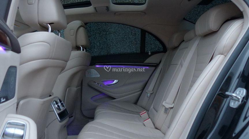 Intérieur Mercedes S 400