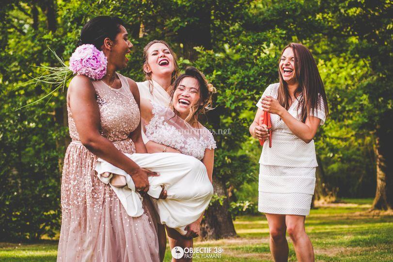 Porter de mariée