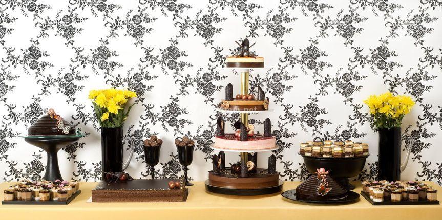 Buffet La Parisienne -Chocolat