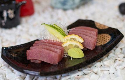 Sashimi au thon