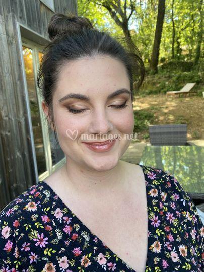 Essai maquillage Manon