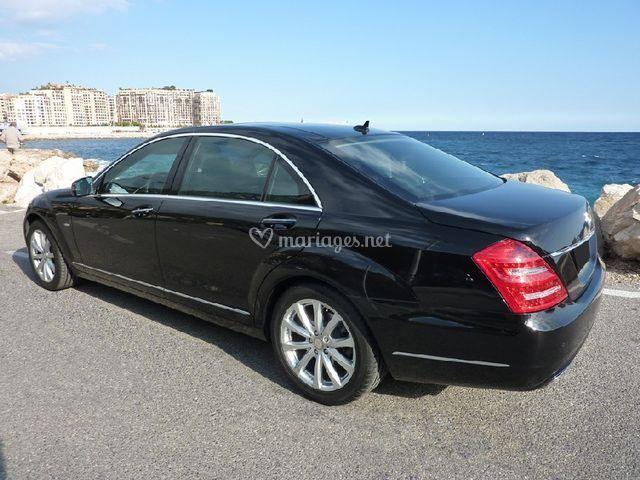Mercedes Classe S vue arrière