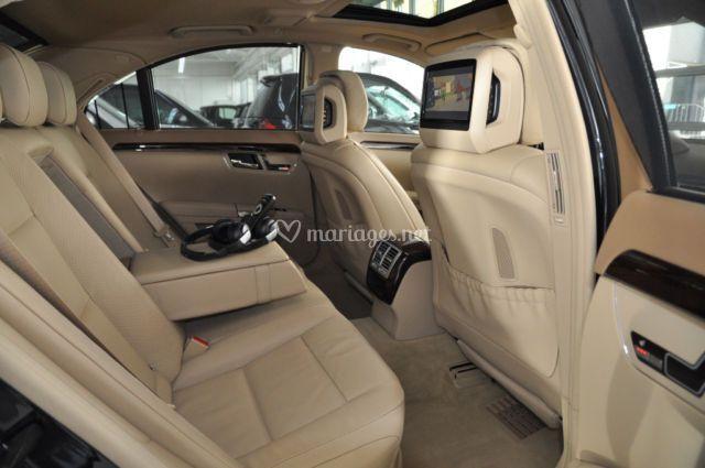 Mercedes Classe S500 intérieur