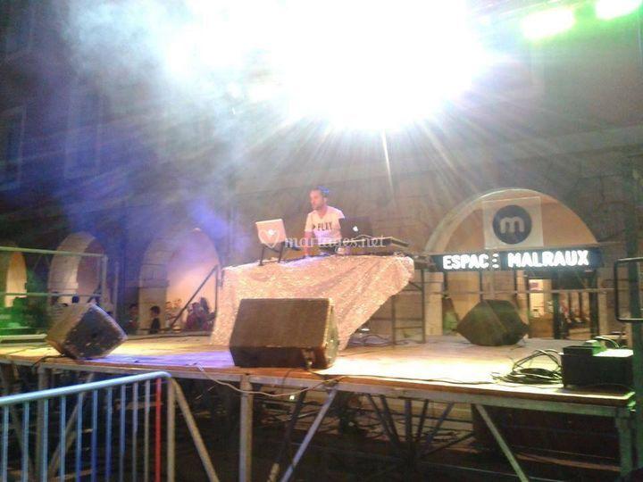 Evenement DJ public