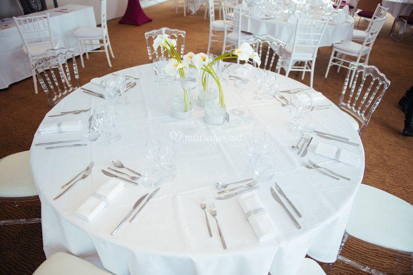 Table décorée par Life's event